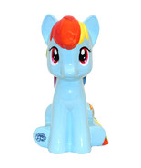 My Little Pony Rainbow Dash Ceramic Coin Saving Money Piggy Bank - $37.78