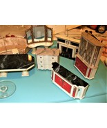 Idea Tots - Large lot of 15 vintage Ideal Petite Princess Dollhouse furn... - $54.90