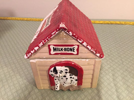 MILKBONE DOGHOUSE TREAT CONTAINER - REDUCED - FREE SHIPPING - $20.79
