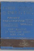 Lodi Drug Inc - Cine Kodak & Film ~ Rex Novelty Co ~ Vintage Strike on M... - $9.89