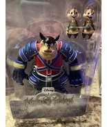 Disney Kingdom Hearts Pete, Chip And Dale Action Figures New In Box - $14.54