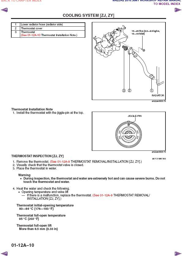 2007-2010 Mazda2 Factory Repair Service Manual