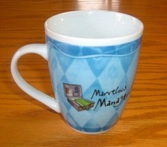 Marvelous Manager Coffee Mug Cup History & Heraldry Tea Novelty Boss 10 oz - $15.99