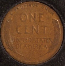 1927-S Lincoln Wheat Back Penny F12 #869 image 8