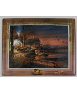Tranquil Retreats #4 Hunter's Haven Plate Plaque Special Memories Terry ... - $29.70