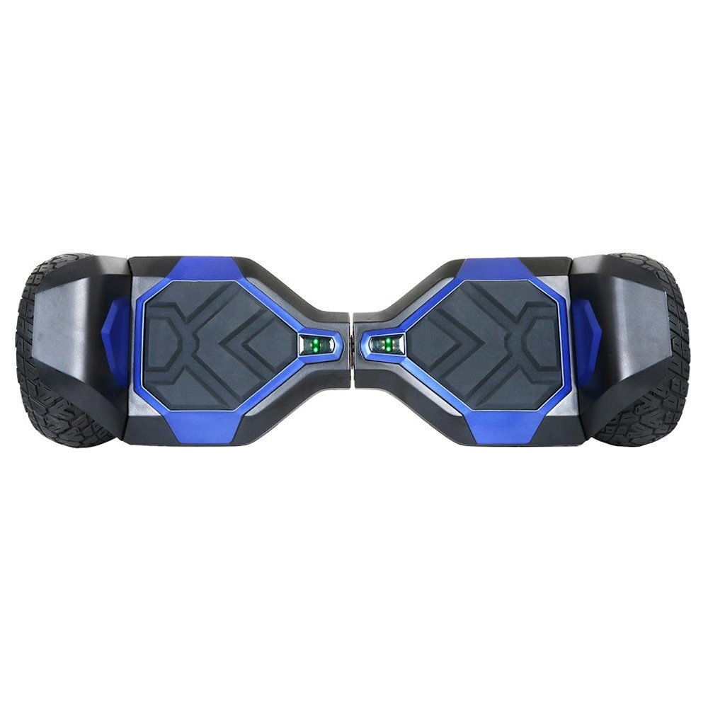 "All Terrain 8.5"" Blue Bluetooth Off Road Hoverboard High Speed Scooter"