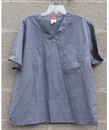 Dickies Medical Work EDS Every Day Scrubs Unisex Gray Large - $6.92