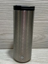 RARE Starbucks  Star and S Logo 16oz Stainless Hot/cold Tumbler 2016 - $34.65