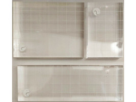 Set of 3 Silhouette Acrylic Stamping Block