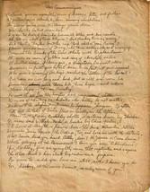 "1944 ""War Communique"" poem by Sgt. Orville E. Hegel, stationed in Belgium - $39.55"