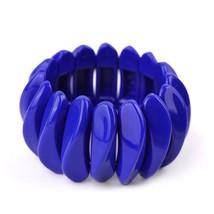 GuanLong Anime Resin Strand Stretch Bracelets For Women Spring Trendy Jewelry Br - $17.20