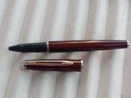 Waterman Hemisphere Metallic Cognac Roller Pen Rare - $78.14
