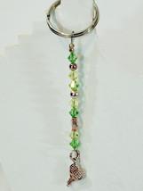 Handmade Artisan Keychain, Tennis Racket, Choos... - $16.00