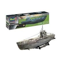 German Submarine Type VII C/41 Platinum Edition Level 5 Revell 1:72 Revell Model - $188.09