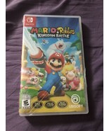 Mario + Rabbids Kingdom Battle Nintendo Switch NEW Sealed w/ Season Pass... - $27.49