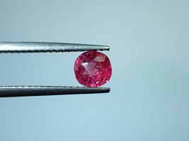 0.87 cts Natural ruby pink Antique stone olden times cutting style unhea... - $135.00