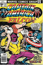 Captain America Comic Book #211, Marvel Comics 1977 NEAR MINT - $15.44