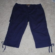 JMS Stretch Classic Capris Capri Pants Womens P... - $21.00