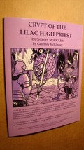 Module - Crypt Of The Lilac High Priest *NM/MT 9.8* Dungeons Dragons Old School - $24.00
