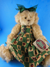 Cottage Collectibles Christmas Teddy bear 1998 Carol E. Kirby GANZ KRIST... - $19.79