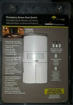 Step Up Occupancy Sensor Dual Switch 1000 Watch 3 Faceplate Option - $29.70