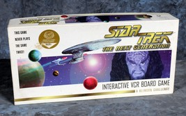 Star Trek The Next Generation Interactive VCR Board Game A Klingon Chall... - $9.99