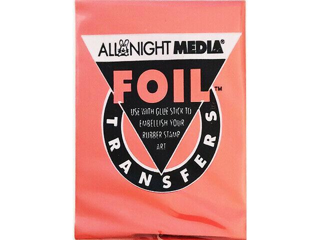 All Night Media Foil Transfer, Red #72-RED