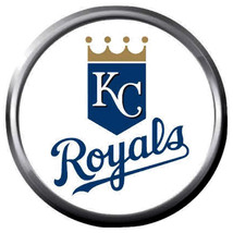 Royals Baseball Kansas City Royals Logo KC MLB 18MM - 20MM Snap Jewelry ... - $5.95