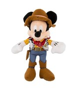"""disney parks toy story 12"""" mickey mouse as sheriff woody plush toy new w... - $26.18"""