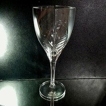 1 (One) MIKASA PANACHE Lead Crystal Wine Glass Square Bowl DISCONTINUED - $31.34
