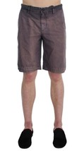 Dolce & Gabbana Men Gray Faded Cotton Above Knees Casual Shorts It46-S - $128.72