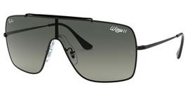 NEW Ray Ban RB 3697-002-11 Black Sunglasses - $122.55