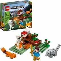 LEGO Minecraft The Taiga Adventure 21162 Love Minecreaft Imaginatioin Bu... - $24.74
