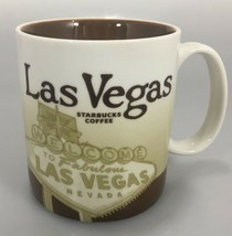 Starbucks Las Vegas Global Icon 2011 Brown Coffee Mug Cup 16 oz  - $33.81