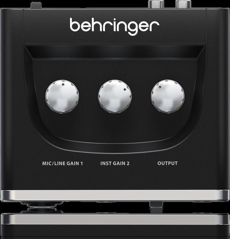 Mackie CR3 Monitors Rec Bundle Behringer UM2 Audio Interface /& Mic w//Pro Tools