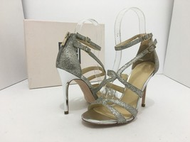 Ivanka Trump Hotis2 Women's Evening High Heels Sandals Gold Silver Size US 6.5 M - $39.60