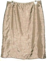 Beige Fitted Wasit Skirt Size 12 - $8.00
