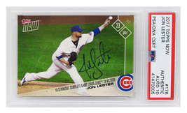 Jon Lester Signed Chicago Cubs 2017 Topps NOW Trading Card #176 - $235.00