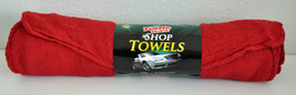 "Turtle Wax Shop Towels 12 Cloths 13"" x 14"" Red Extra Thick - $24.74"