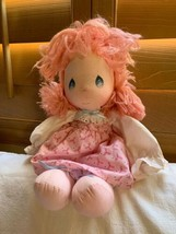 """Pink Dress & Hair, Vintage Precious Moments Doll - 1985 Applause  Doll, 15"""" - $39.59"""