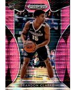 Brandon Clarke 2019-20 Panini Prizm Draft Picks Pink Pulsar Rookie Card #86 - $4.00