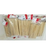 """Lot of 6600 6"""" Bamboo Skewers Wood Edward Don and Company K8872 - $39.59"""