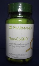 Nu Skin Nuskin Pharmanex NanoCoQ10 30 capsules SEALED - $53.00