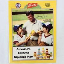 Vintage Tommy John MLB Little League Baseball French's Mustard Magazine Ad  - $9.47