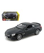 StarSun Depot Mercedes SL 65 AMG Coupe Black 1/24 Car Model by Bburago - $37.87