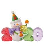 Hallmark  Sweet Decade 2020 - Candy Snowman  Series 1st   Keepsake Ornam... - $19.79