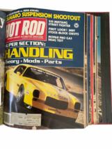Vtg Jan-Dec 1981 Lot Bound Hot Rod Magazine High Performance Cars 1969 Binder image 3