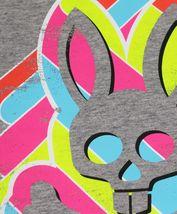 Men's Psycho Bunny Short Sleeve Tee Logo Graphic Shirt Heather Grey T-Shirt image 3