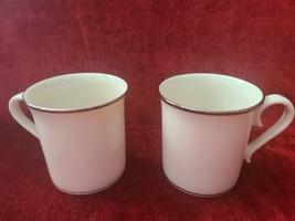 "Lenox Solitaire Set of 2 Mugs 3 1/2""  - $21.78"