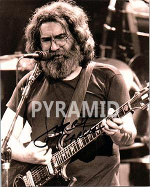 Primary image for JERRY GARCIA  Autographed Signed Photo w/ Certificate of Authenticity - 10122